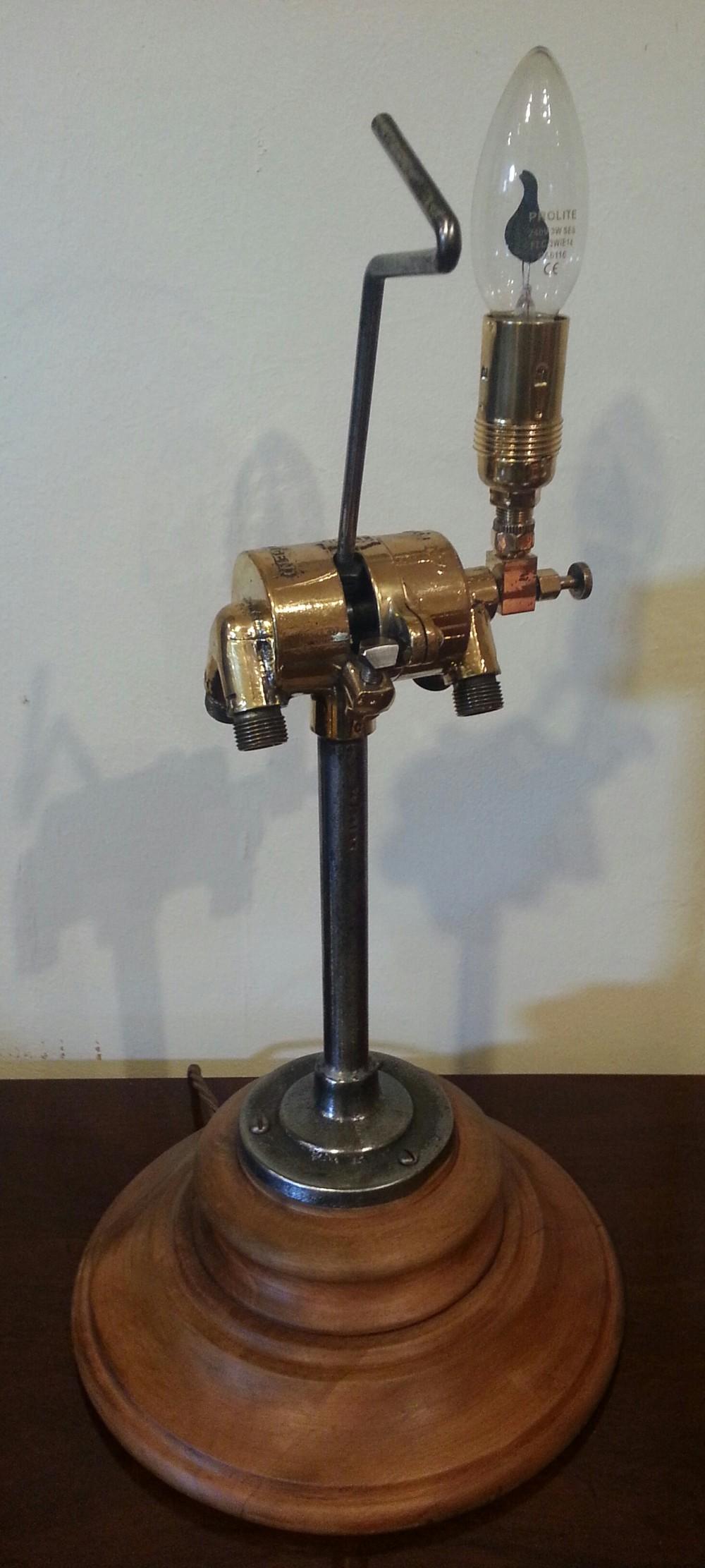 'oxyacetylene' table lamp
