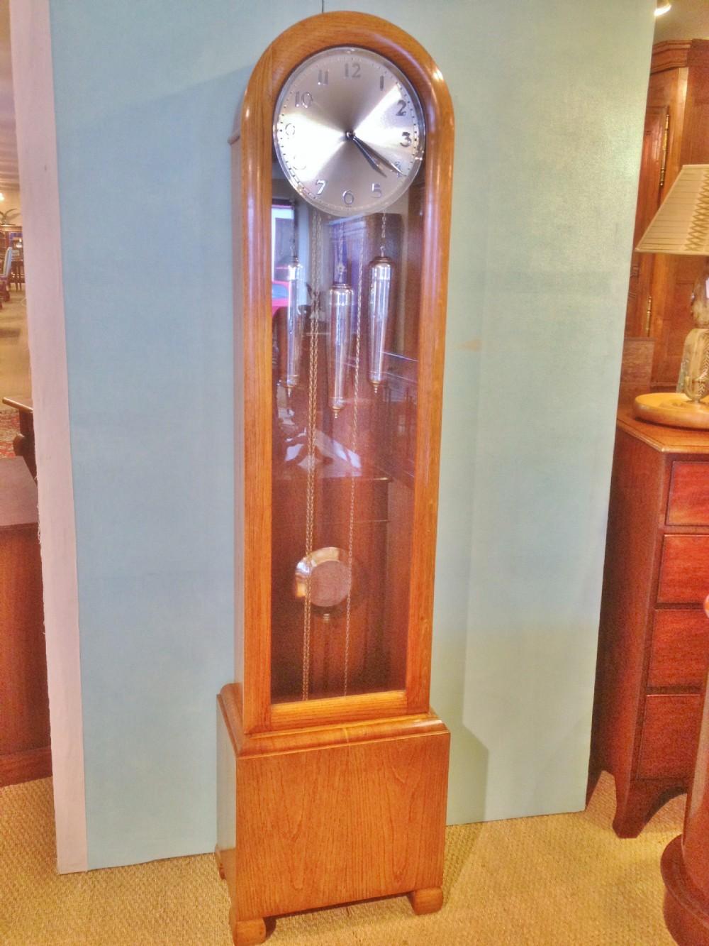Art Deco Grandfather Clock 245491 Sellingantiques Co Uk