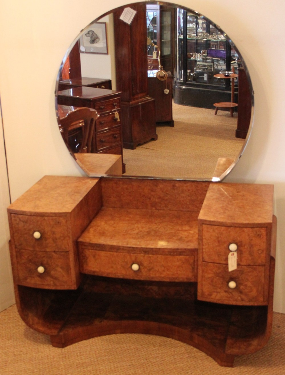 Art deco style dressing table