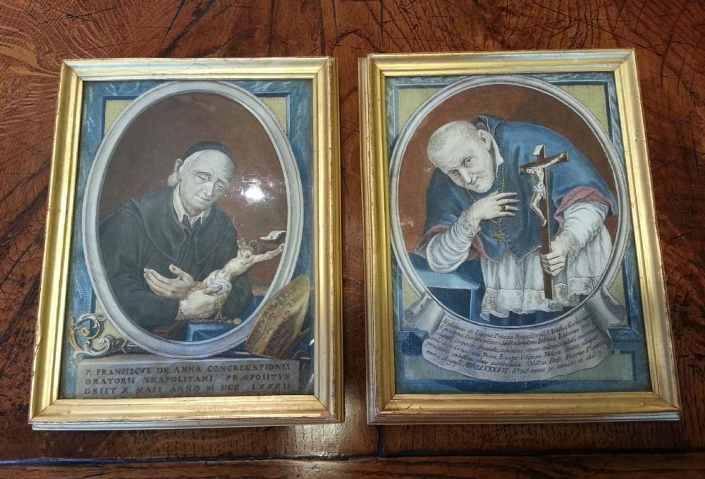 pair italian saints