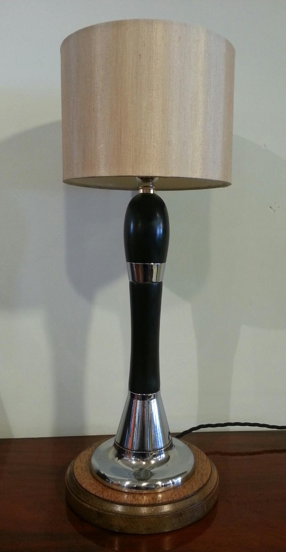 beer pump handle lamp