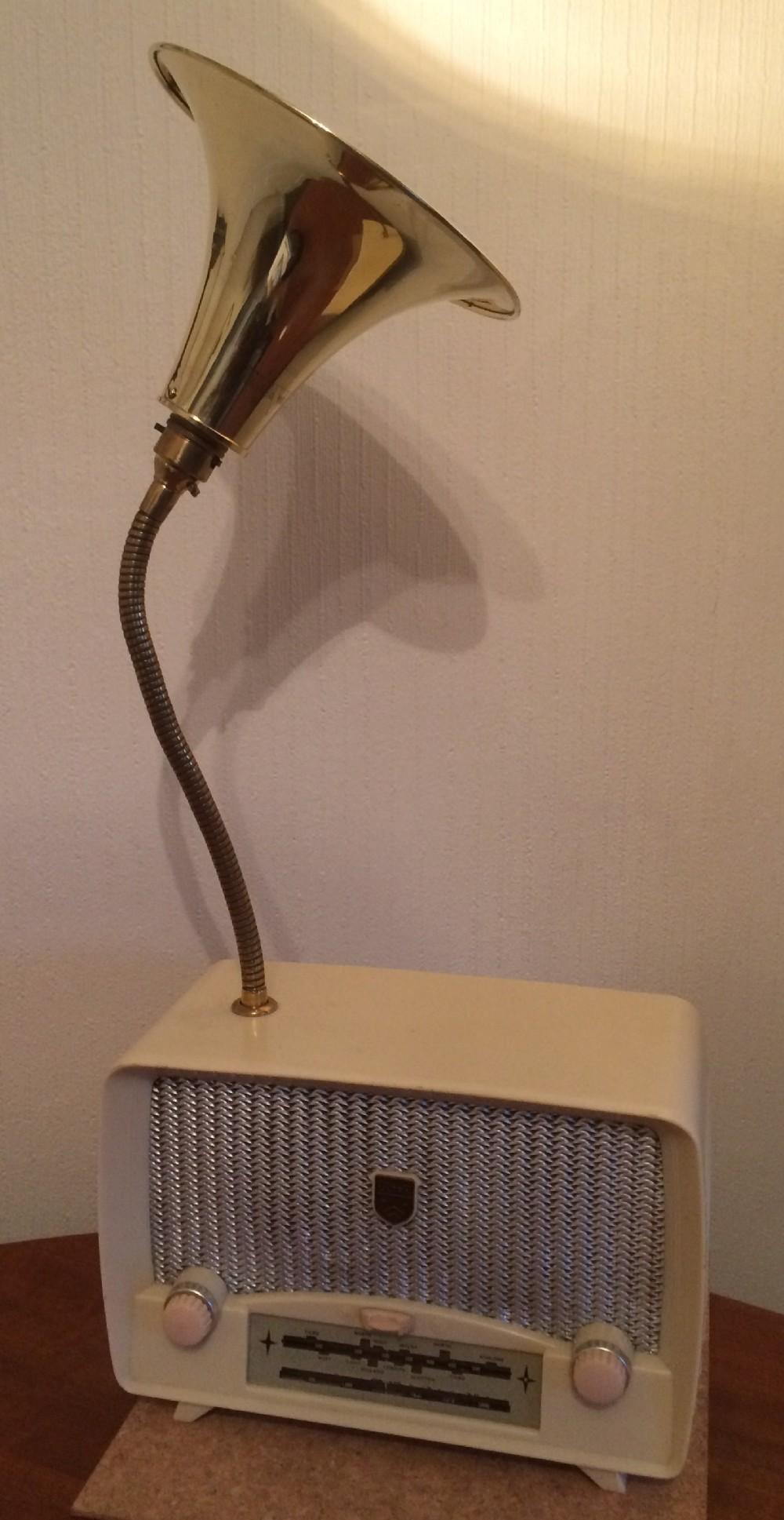 radio table lamp