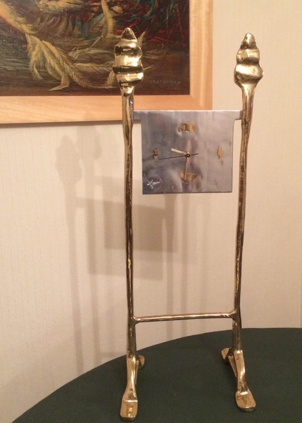 david marshall sculptural clock