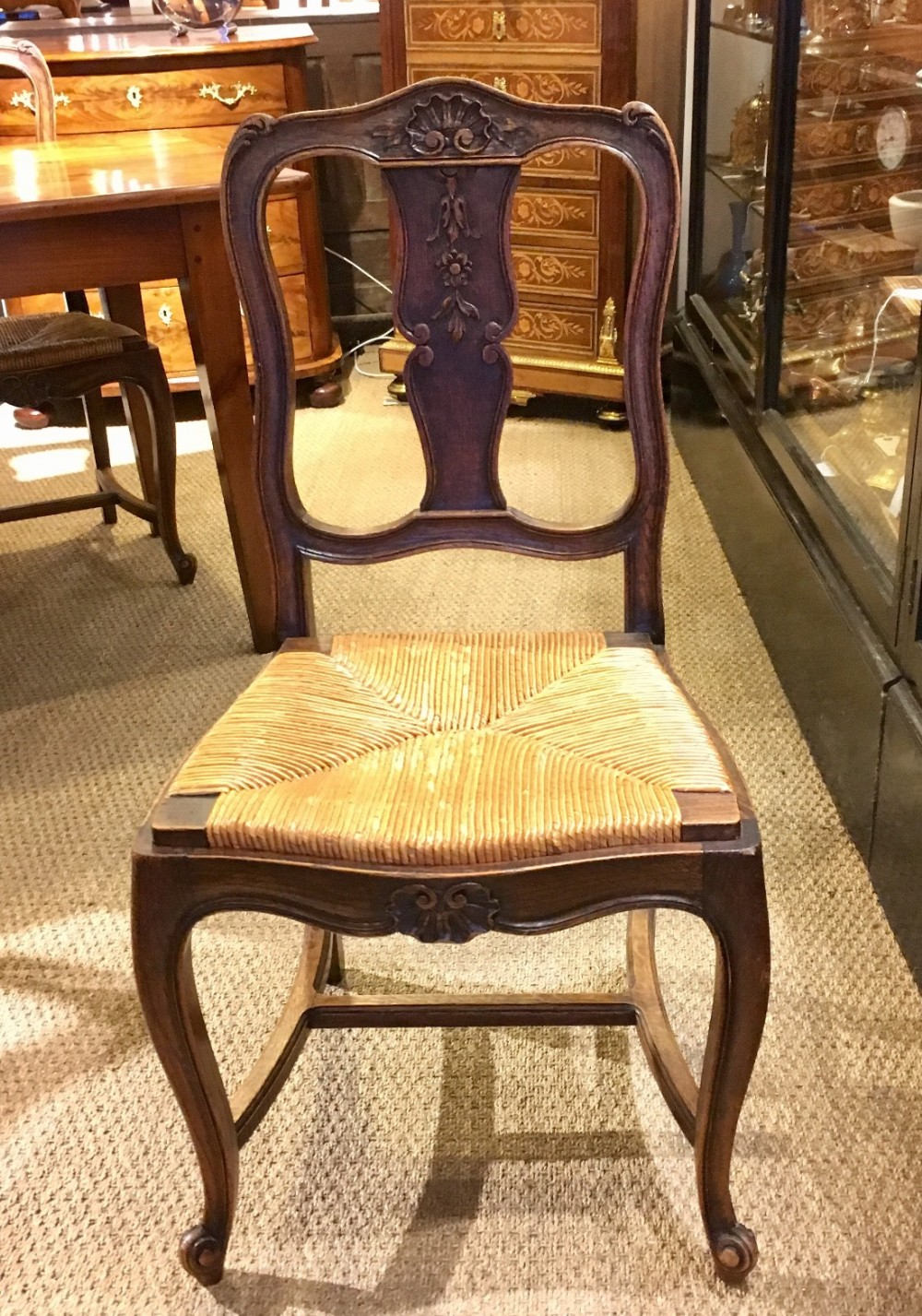 set 6 oak dining chairs kitchen chairs