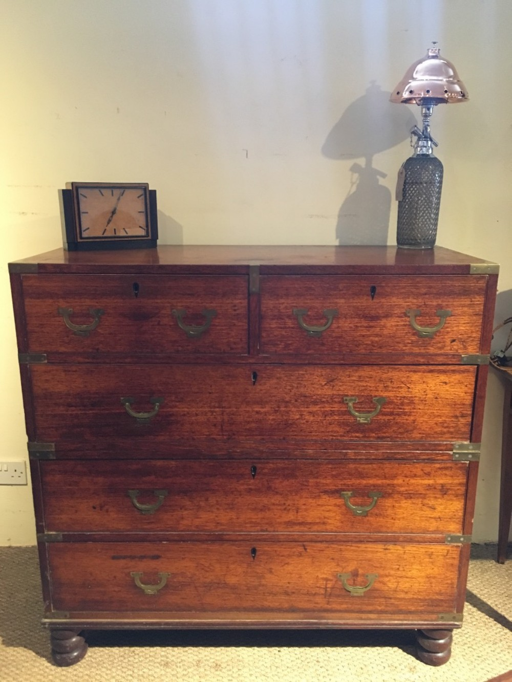 military campaign chest of drawers