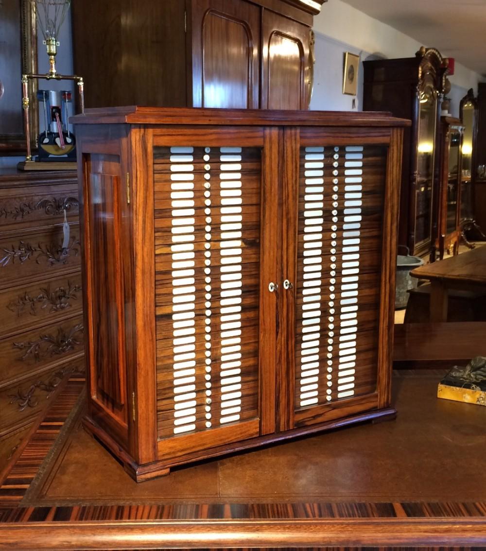 microscope slide collectors cabinet