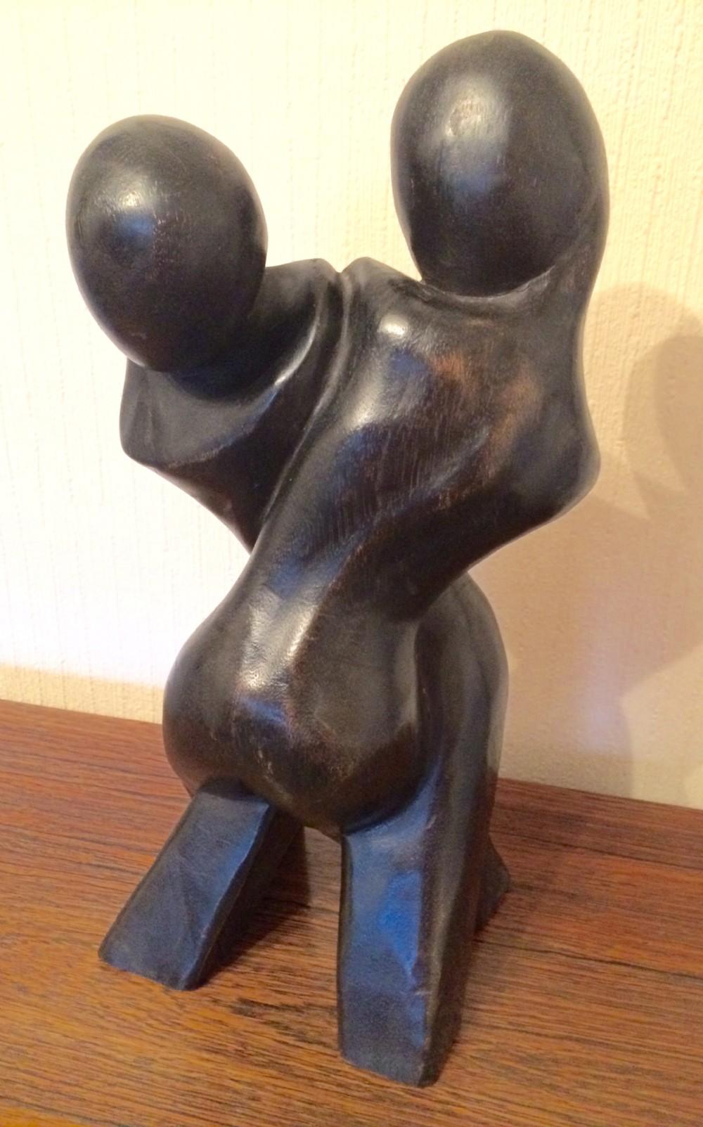 art deco lovers sculpture