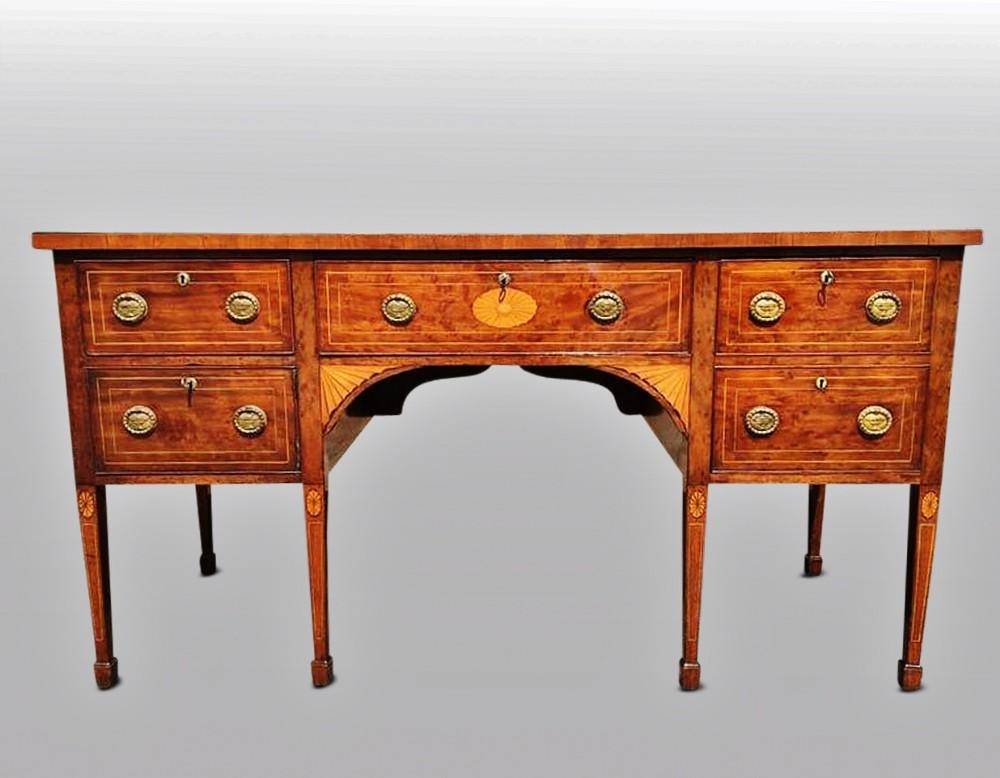 georgian mahogany sideboard english c 1800