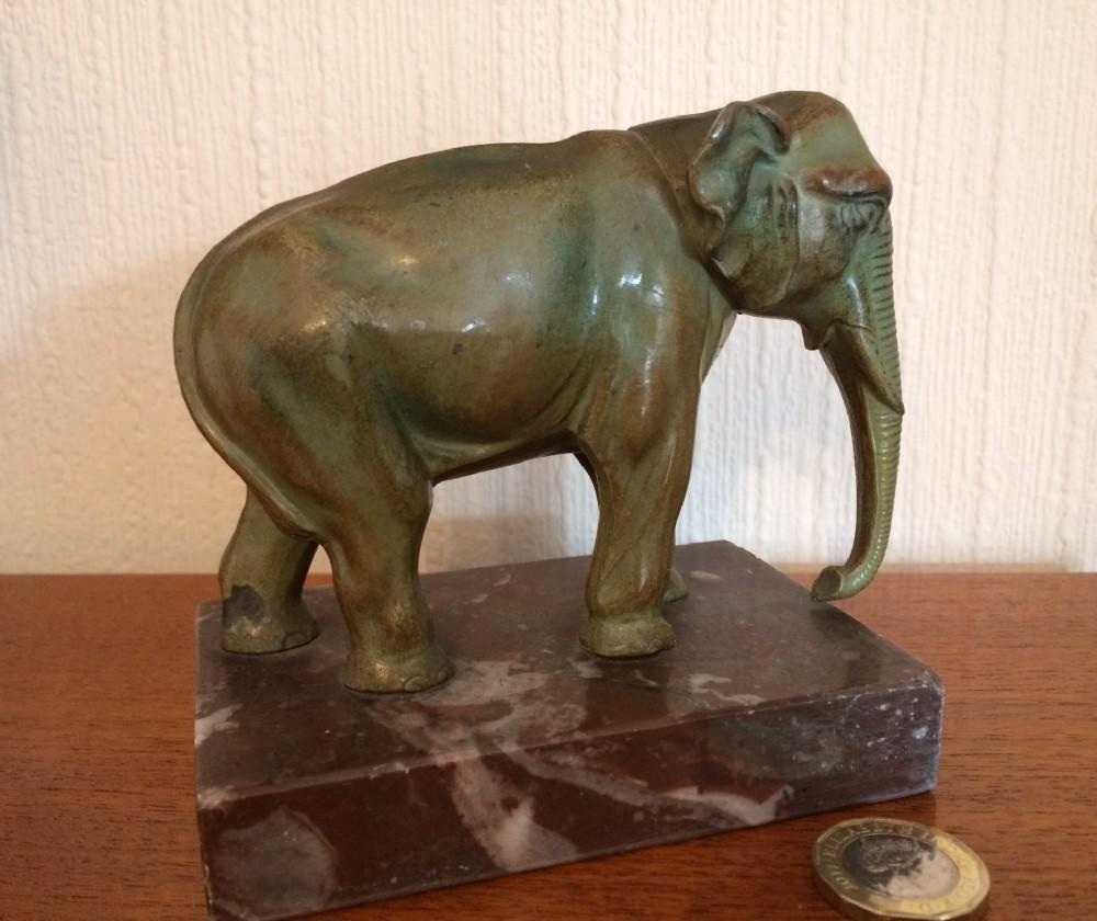 spelter elephant