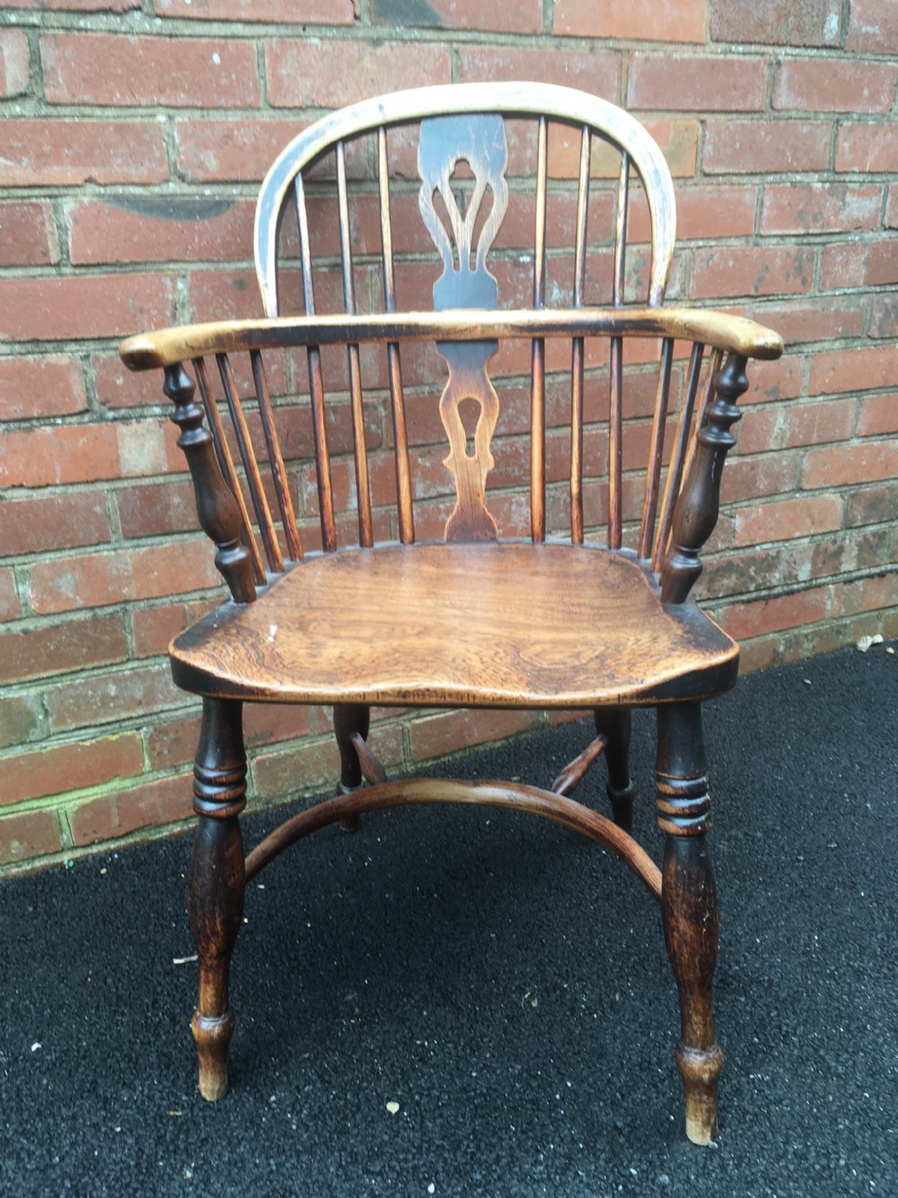 elm windsor chair rockley maker