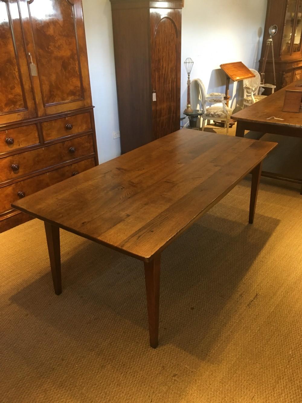 oak farmhouse table 8 seater