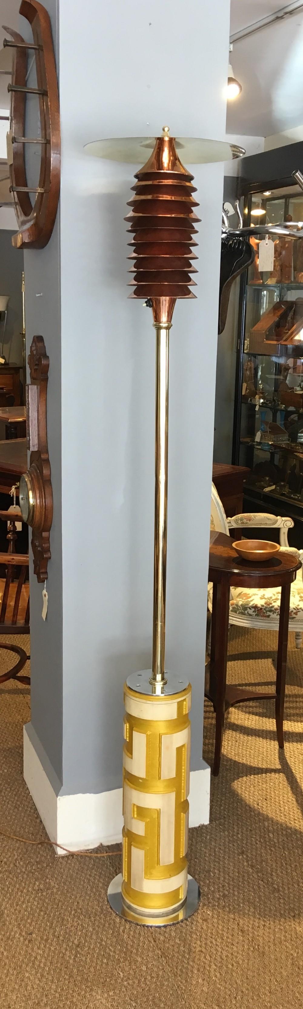 unique floor standing lamp