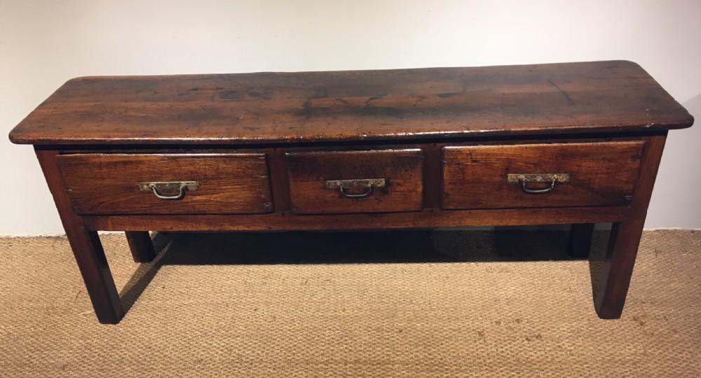 oak dresser base server