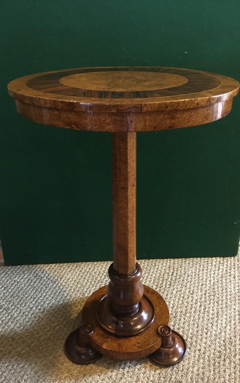regency pollard oak side table