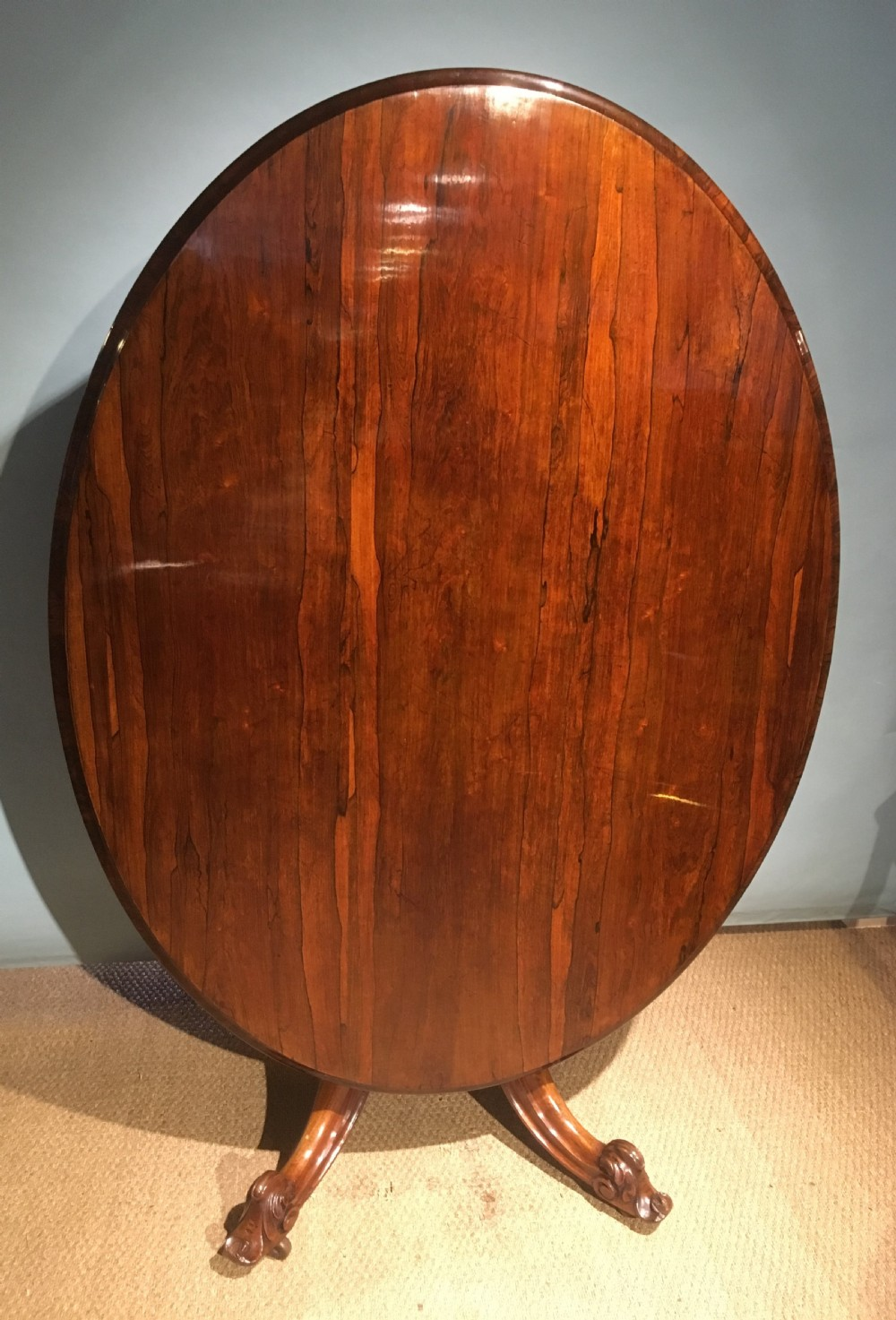 rosewood loo table centre table