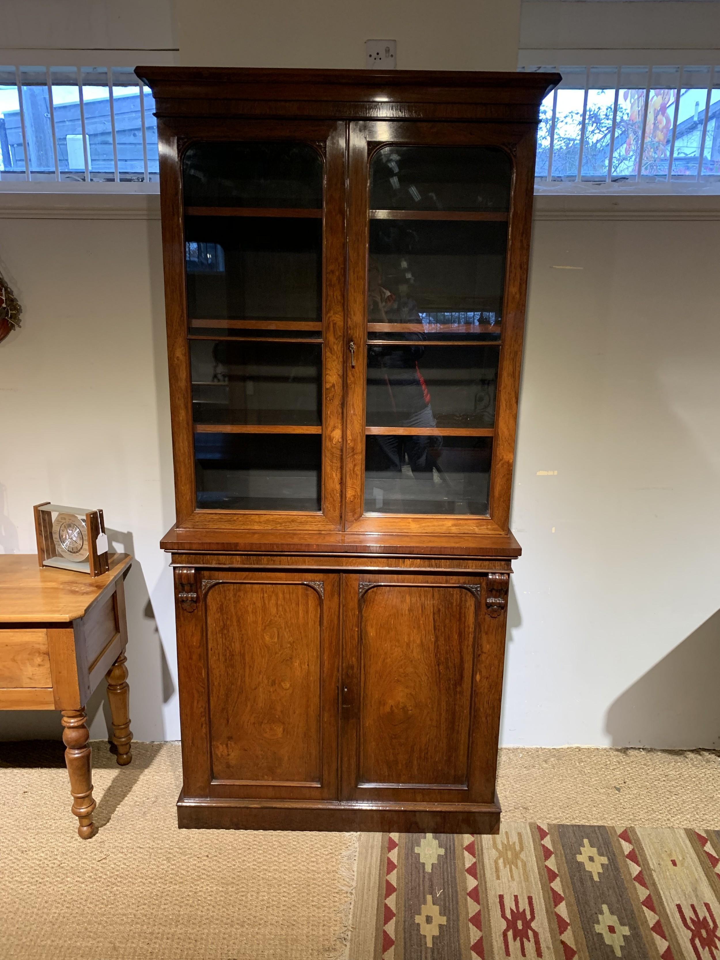 2 part bookcase
