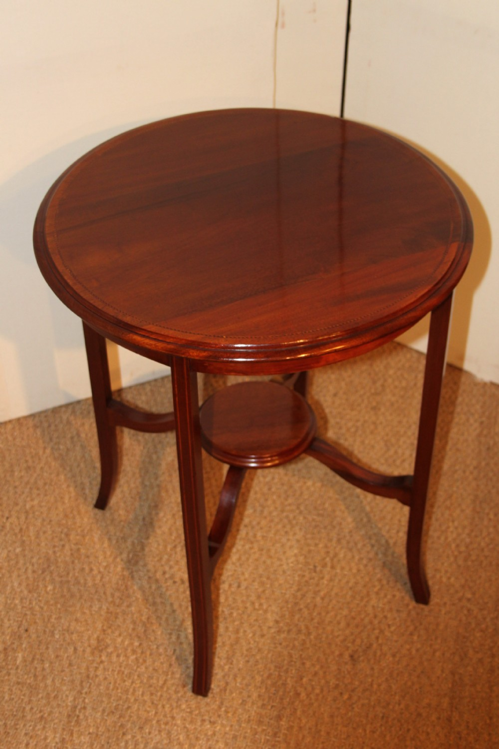 Edwardian mahogany side table 235185 for Table in table