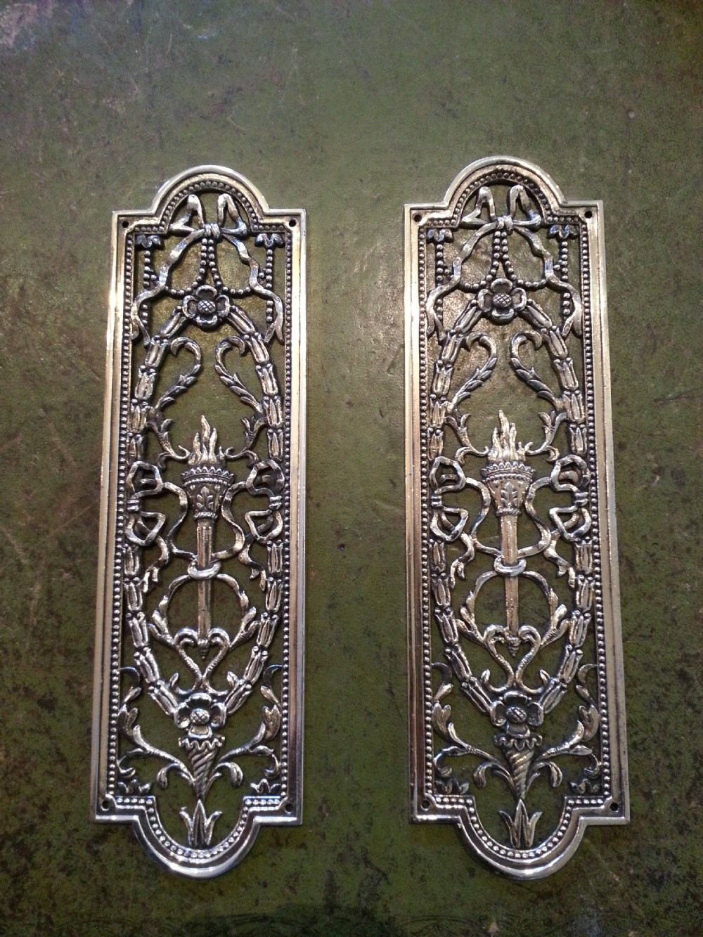 pair of door finger plates 262637