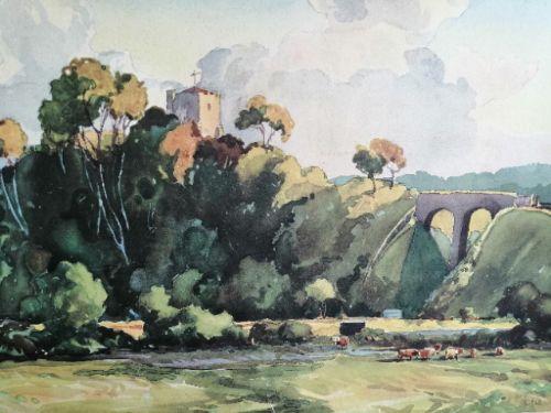 a william hyams 18581952 watercolour