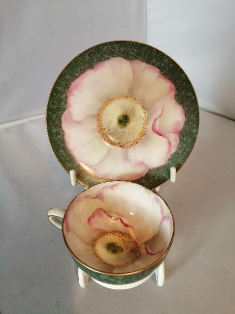 a very rare royal worcester cup and saucer
