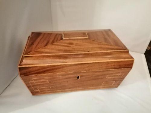regency sarcophagus shape box