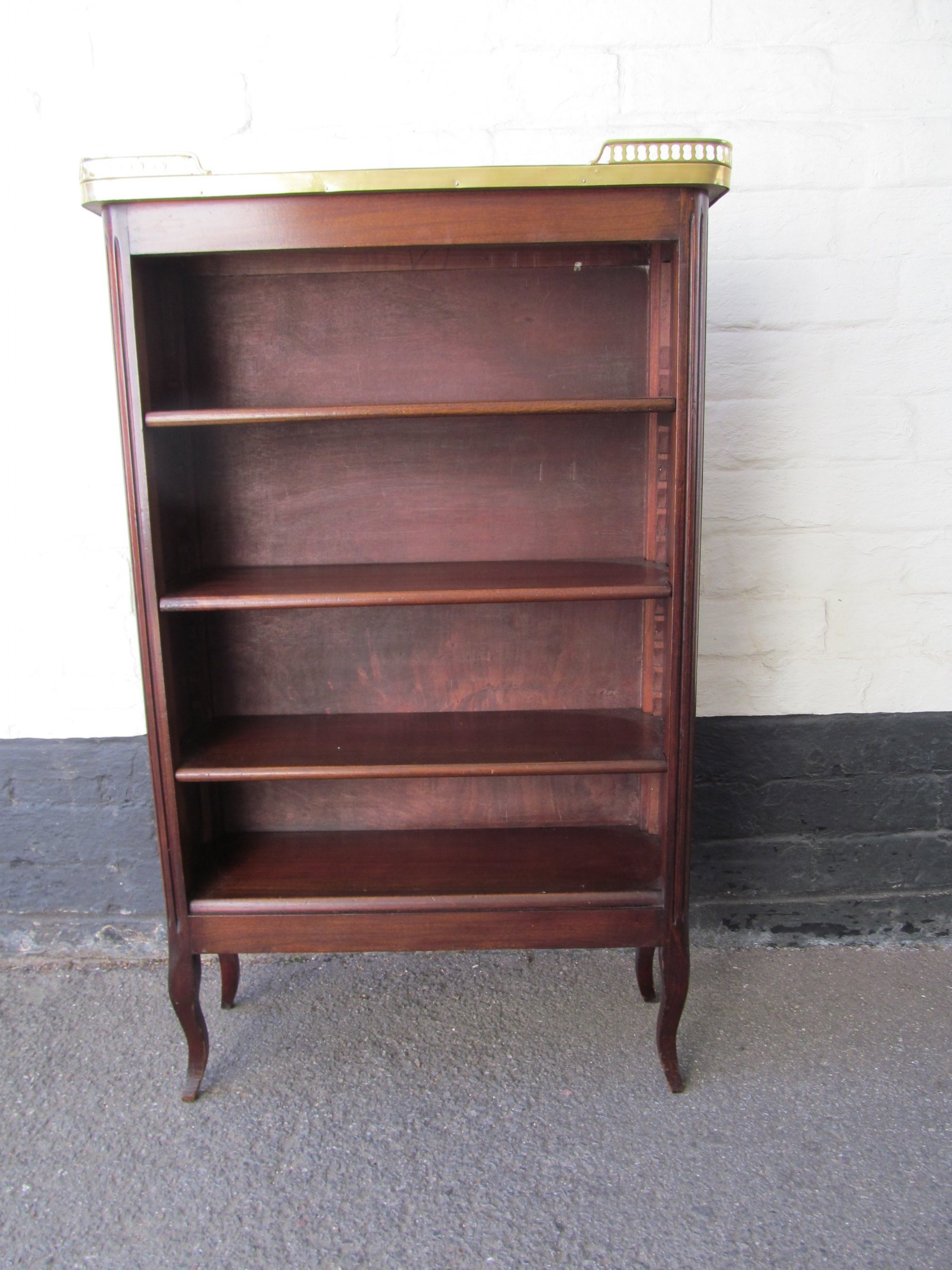 Petite French Open Bookcase