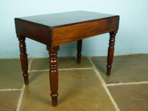 pretty victorian mahogany ladies bidet baby bath side table wash stand 254498. Black Bedroom Furniture Sets. Home Design Ideas