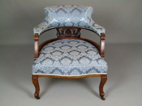 edwardian mahogany tub chair 270716 sellingantiques co uk