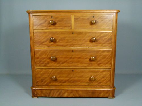 satinwood chest of drawers 2