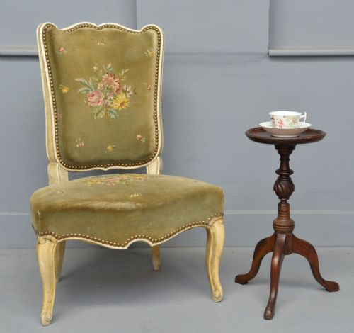 Mersham Manor Antiques · VICTORIAN MAHOGANY BEDROOM CHAIR ... - Antique Bedroom Chairs - The UK's Largest Antiques Website