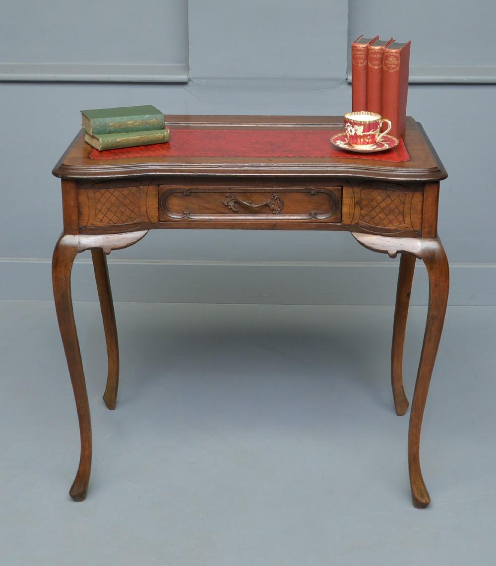 french mahogany writing table