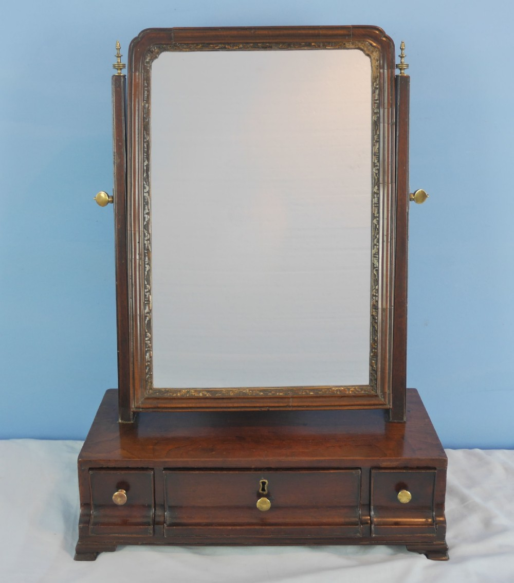 georgian mahogany dressing toilet mirror