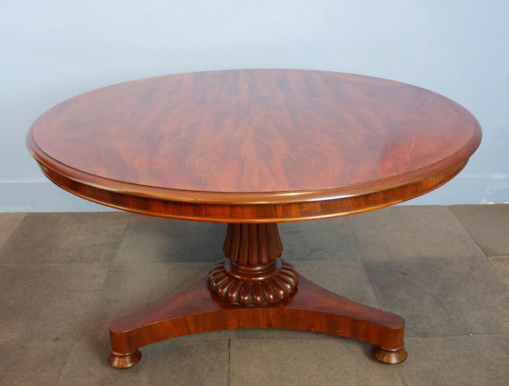 Mahogany Circular Round Dining Table 353566  : mahogany circular round dining table 353566 from www.sellingantiques.co.uk size 1000 x 758 jpeg 106kB