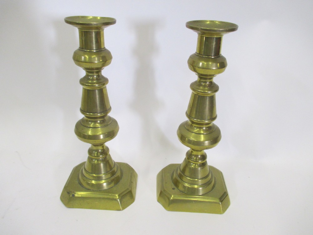 untouched pair of candlesticks