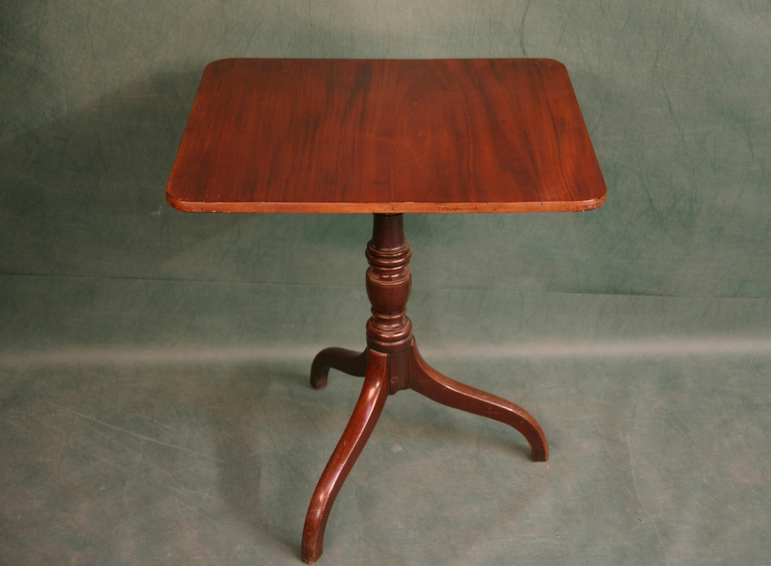 george iii small mahogany tilt top table