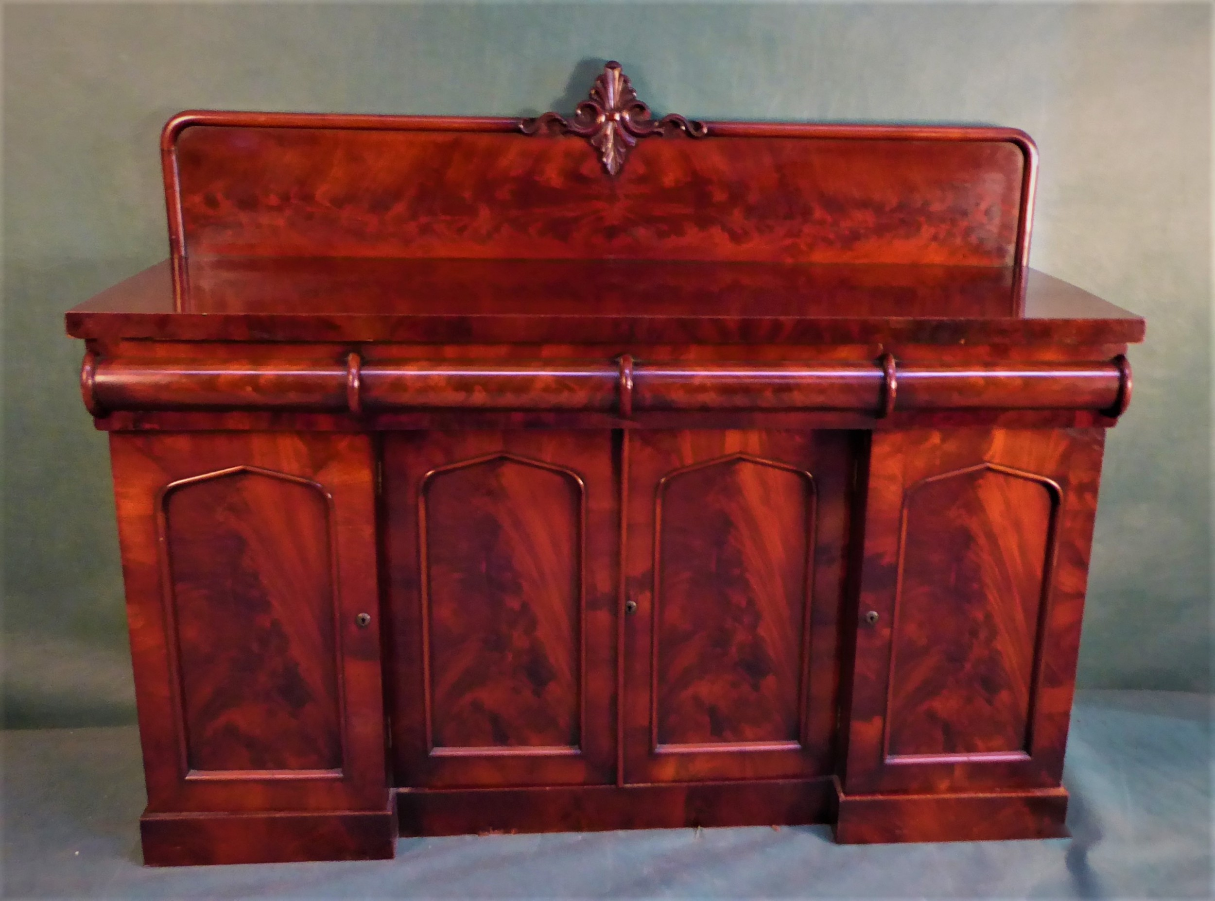 antique victorian mahogany sideboard