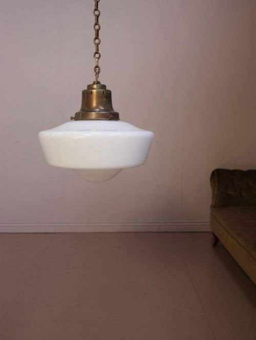 1920's english antique light fittings 2 available - photo angle #2