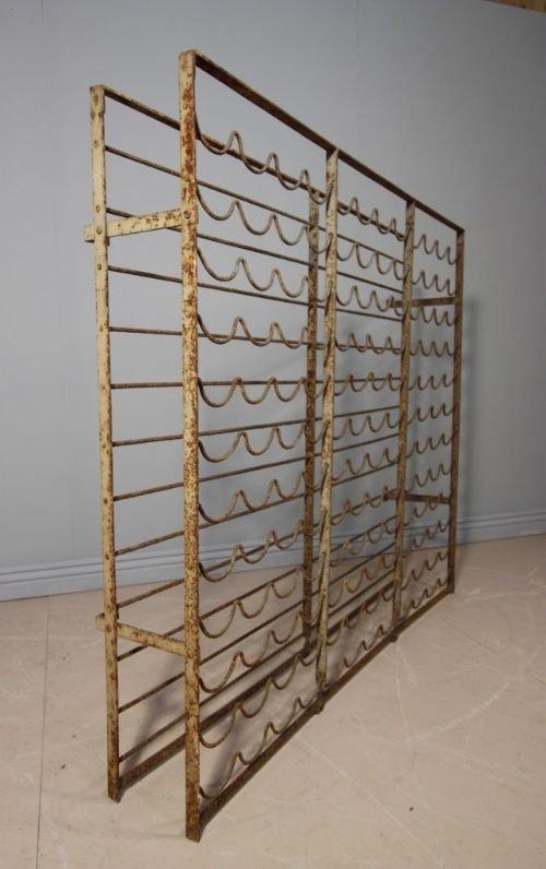 english antique wrought iron wine rack - English Antique Wrought Iron Wine Rack 93173 Sellingantiques.co.uk