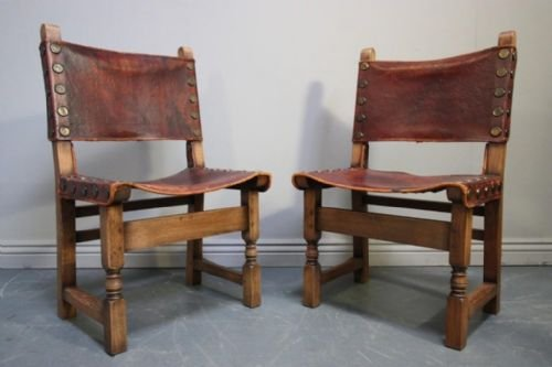 Vintage Leather Dining Chairs set of 6 victorian dining chairs. set of 12 antique art nouveau