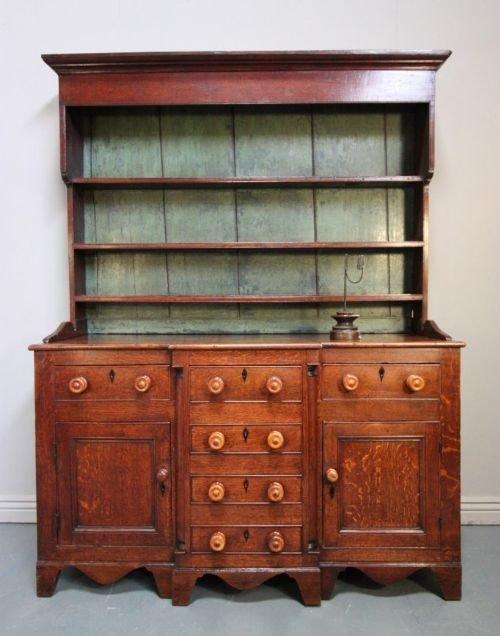 impressive caernarfonshire antique oak dresser
