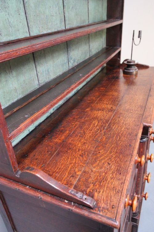 impressive caernarfonshire antique oak dresser - photo angle #4