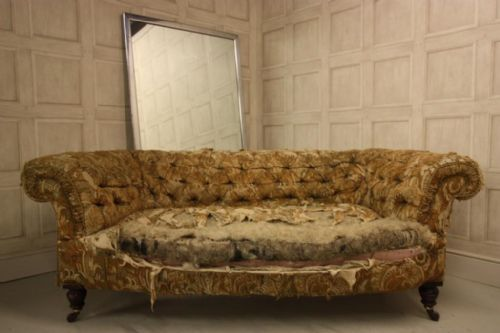 English Antique Chesterfield Sofa 215808 Ingantiques Co Uk