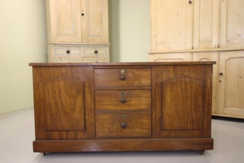 unusual antique mahogany dressing central island - photo angle #3