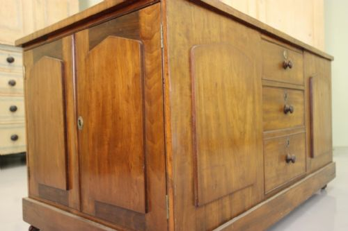 unusual antique mahogany dressing central island - photo angle #5