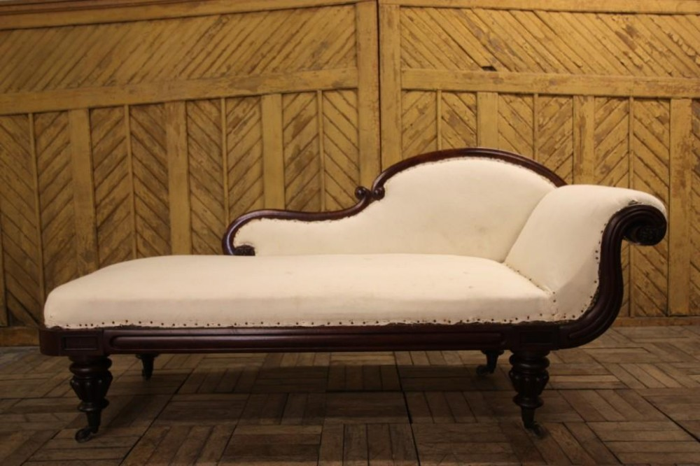 English regency antique mahogany chaise longue 250196 for Chaise longue in english