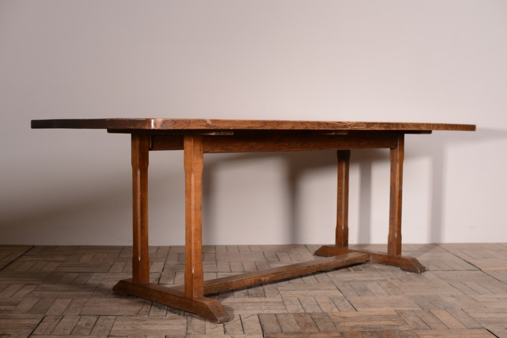 Large 1930 39 s heals oak refectory dining table 288601 - Heals dining table ...