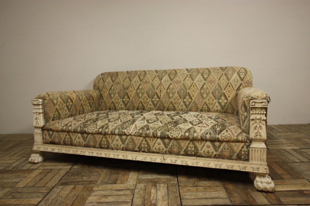 Fabulous English Antique Deep Seated Sofa 336158