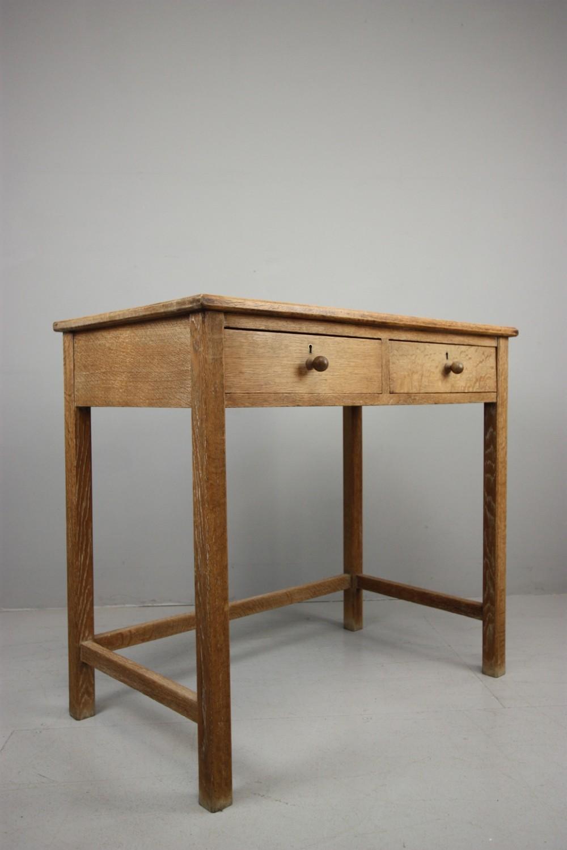 1930u0027s Heals Oak Side Writing Table