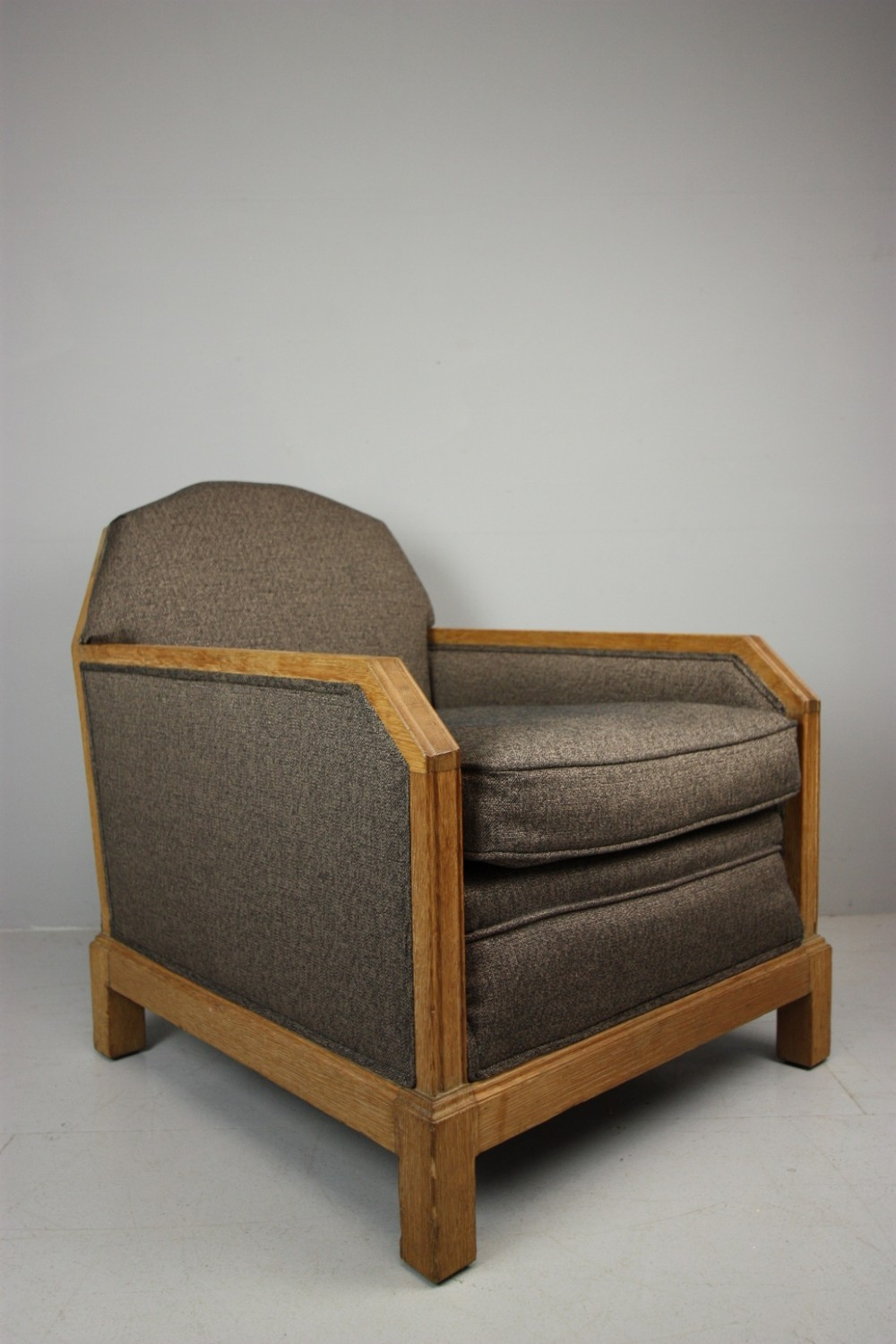 Rare Heals Oak Upholstered Armchair. | 373346 ...