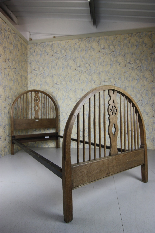 Heals 1920 S Oak Cottage Single Bed 392218